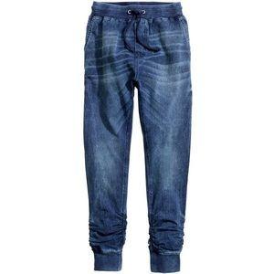 H&M Blue Denim Joggers Size 4